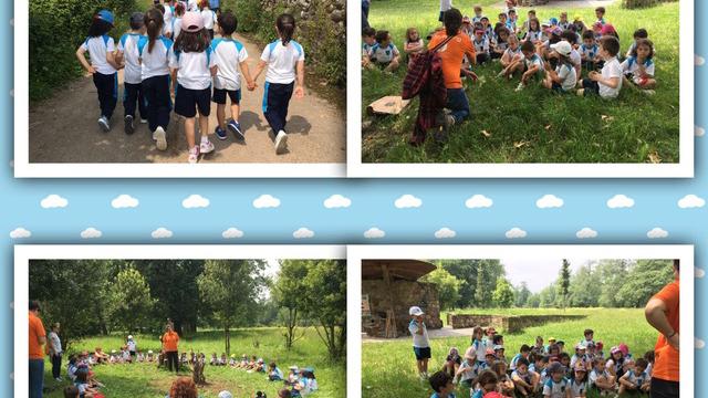 La clase de 5 años visita el parque de La Regata