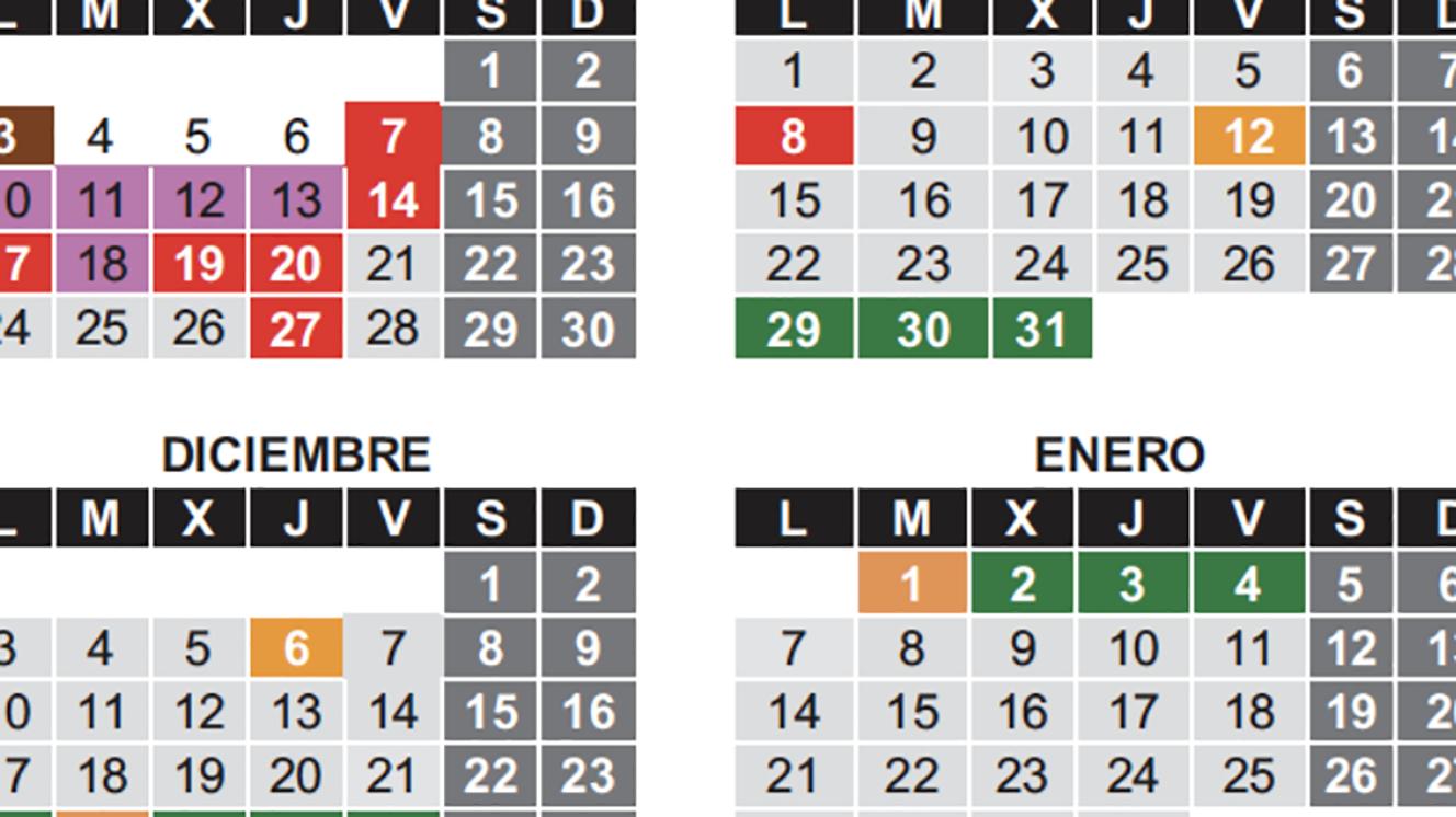 Calendario Escolar Cantabria 2020.Calendario Escolar Para El Curso 2018 2019 Colegio