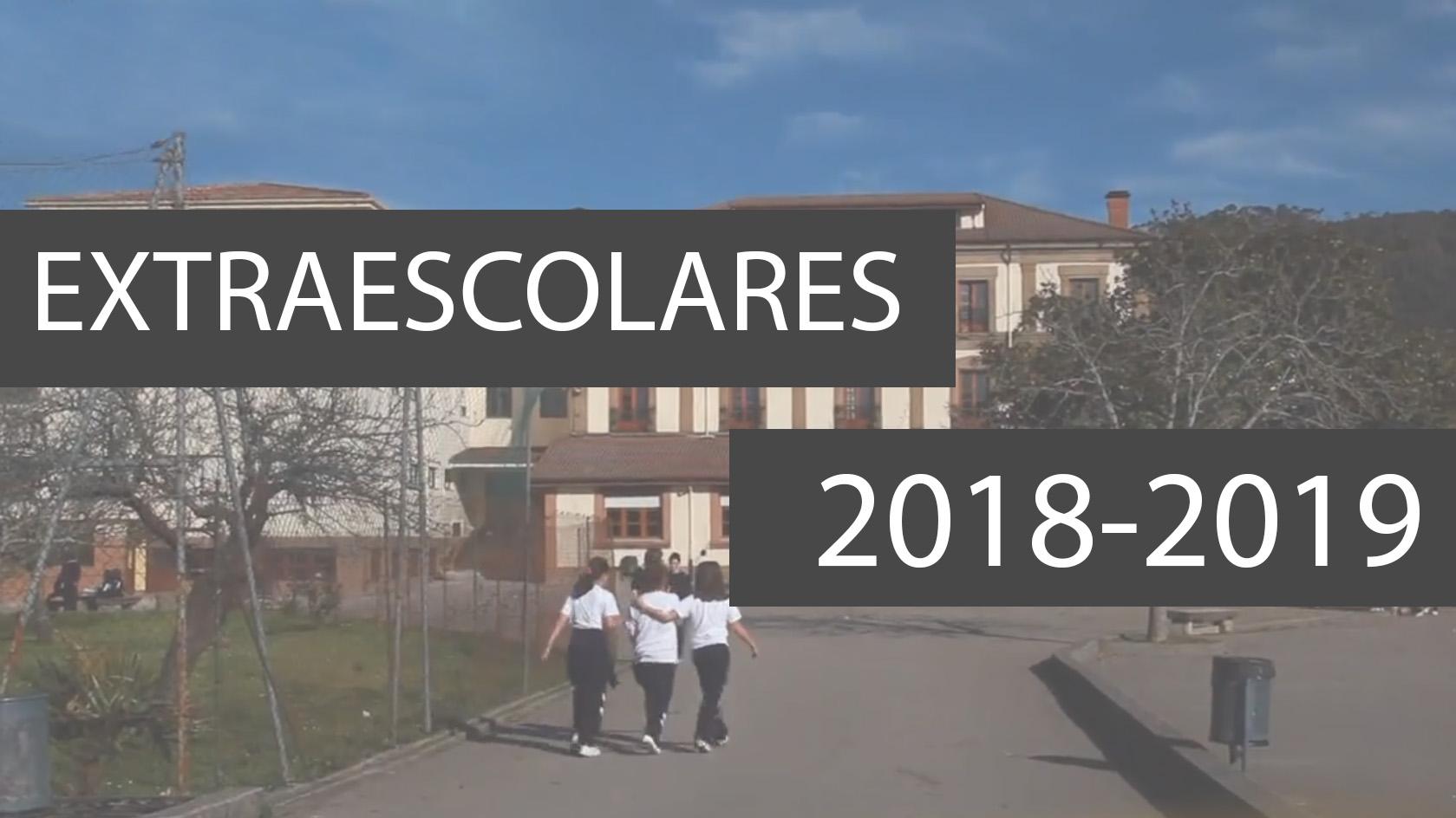 Actividades extraescolares para el curso 2018-2019