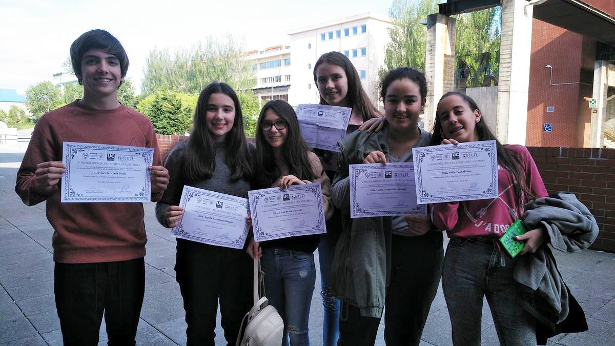 V Miniolimpiada de Química de Cantabria