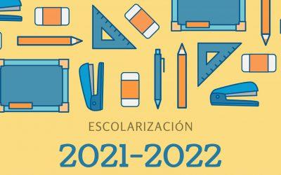 Escolarización 2021-2022 – Próximas reuniones informativas para nuevos alumnos, ¡apúntate!